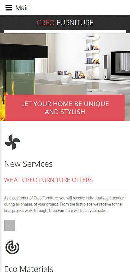Interior & Furniture Most Popular website inspirations at your coffee break? Browse for more Joomla #templates! // Regular price: $75 // Sources available: .PSD, .PHP #Interior & Furniture #Most Popular #Joomla