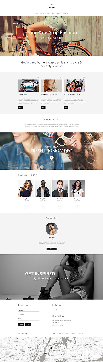 Fashion Most Popular website inspirations at your coffee break? Browse for more Joomla #templates! // Regular price: $75 // Sources available: .PSD, .PHP #Fashion #Most Popular #Joomla