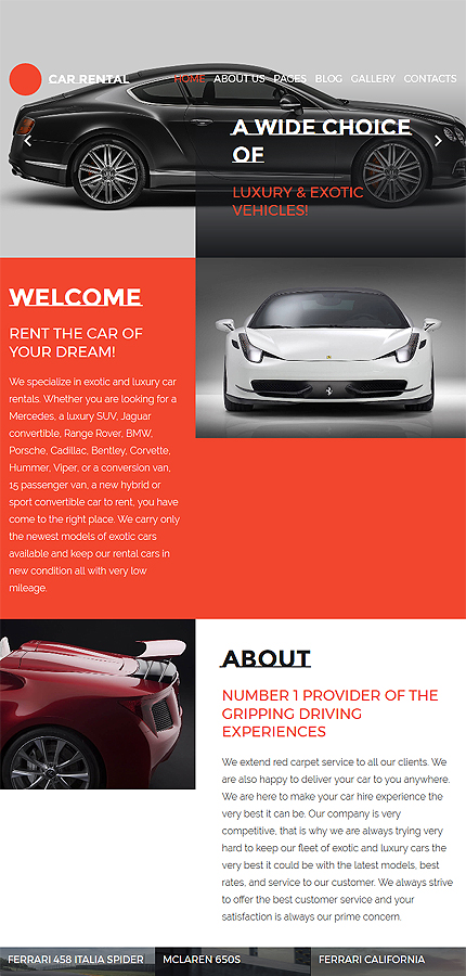 Car website inspirations at your coffee break? Browse for more Joomla #templates! // Regular price: $75 // Sources available: .PSD, .PHP #Car #Joomla