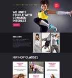 Dance Studio Joomla Template