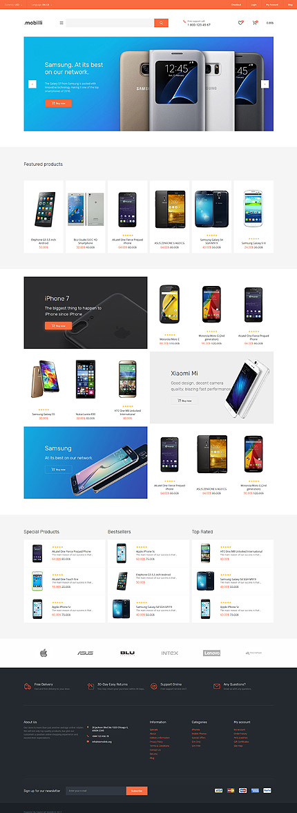 Electronics Most Popular website inspirations at your coffee break? Browse for more OpenCart #templates! // Regular price: $59 // Sources available: .PSD, .PNG, .PHP, .TPL, .JS #Electronics #Most Popular #OpenCart