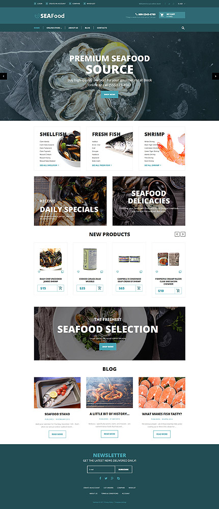 Cafe and Restaurant website inspirations at your coffee break? Browse for more VirtueMart #templates! // Regular price: $139 // Sources available: .HTML,  .PSD, .PHP, .XML, .CSS, .JS #Cafe and Restaurant #VirtueMart
