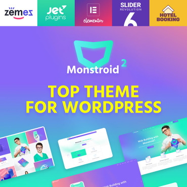 WordPress Theme # 62222
