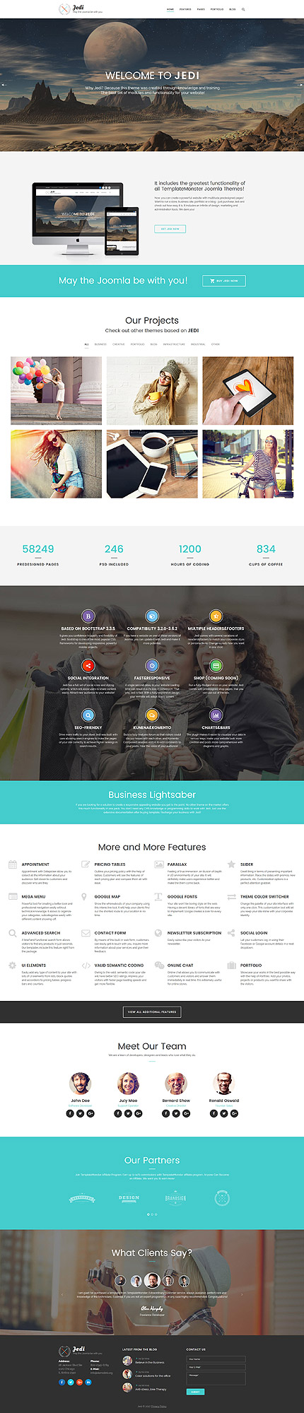Business Most Popular website inspirations at your coffee break? Browse for more Joomla #templates! // Regular price: $87 // Sources available: .PSD, .PHP #Business #Most Popular #Joomla