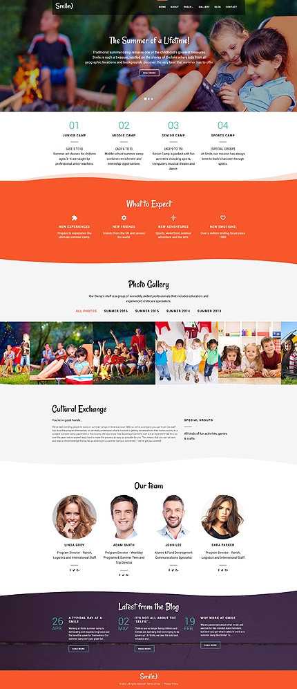 Family website inspirations at your coffee break? Browse for more Joomla #templates! // Regular price: $75 // Sources available: .PSD, .PHP #Family #Joomla