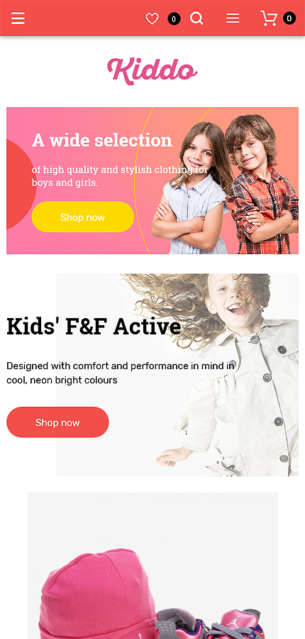 Family website inspirations at your coffee break? Browse for more Magento #templates! // Regular price: $179 // Sources available: .PSD, .XML, .PHTML, .CSS #Family #Magento