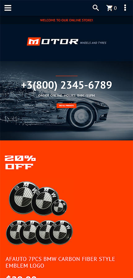 Car Most Popular website inspirations at your coffee break? Browse for more Magento #templates! // Regular price: $179 // Sources available: .PSD, .XML, .PHTML, .CSS #Car #Most Popular #Magento