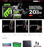 Magento template 62288 - Buy this design now for only $179