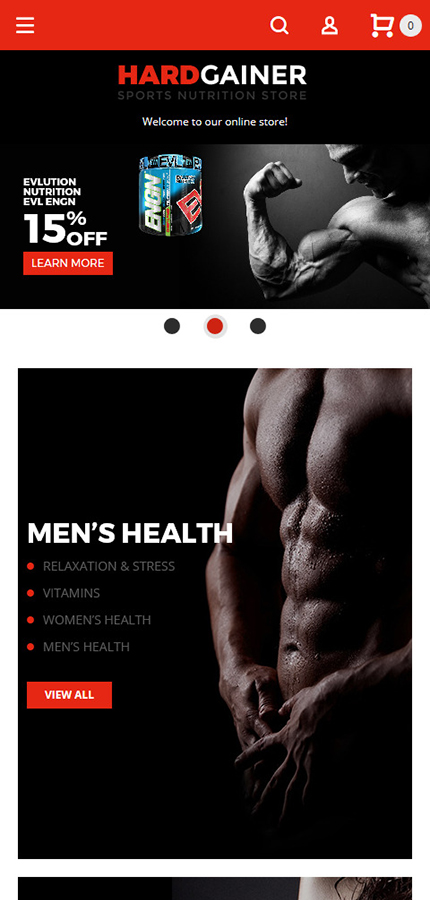 Sport Most Popular website inspirations at your coffee break? Browse for more Magento #templates! // Regular price: $179 // Sources available: .PSD, .XML, .PHTML, .CSS #Sport #Most Popular #Magento