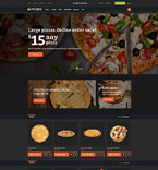 Pizza Ordering OpenCart Template