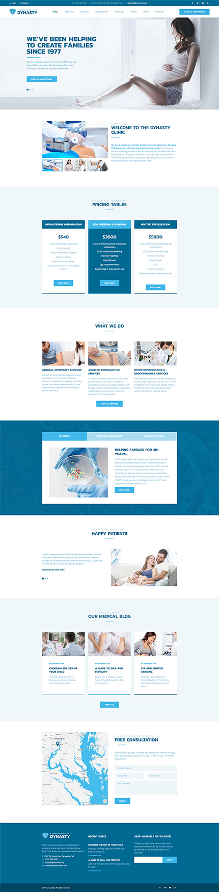 Medical website inspirations at your coffee break? Browse for more WordPress #templates! // Regular price: $75 // Sources available:.PHP, This theme is widgetized #Medical #WordPress
