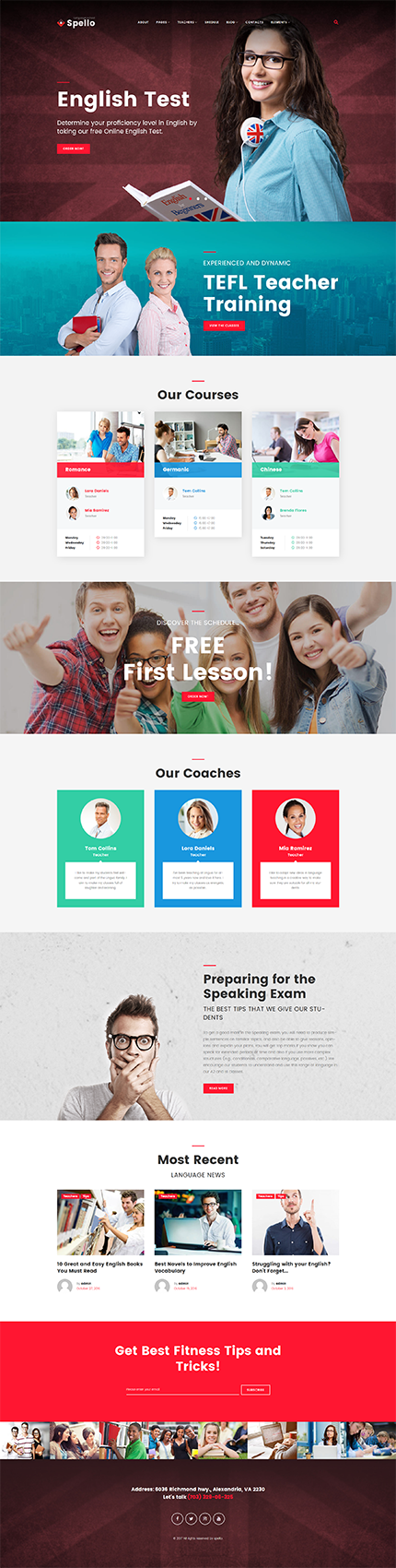 Education Most Popular website inspirations at your coffee break? Browse for more WordPress #templates! // Regular price: $75 // Sources available:.PHP, This theme is widgetized #Education #Most Popular #WordPress