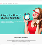 Life Coaching WordPress Template