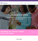 Women's Rights WordPress Template