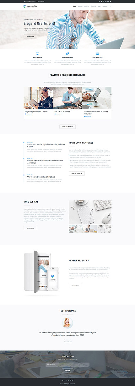 Business Most Popular website inspirations at your coffee break? Browse for more Drupal #templates! // Regular price: $75 // Sources available: .PSD, .PHP #Business #Most Popular #Drupal