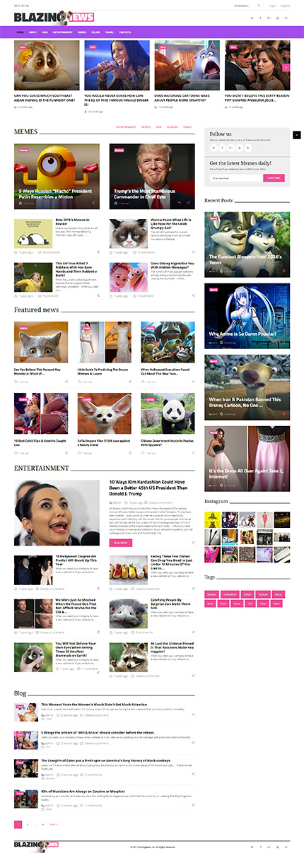 Media Most Popular website inspirations at your coffee break? Browse for more WordPress #templates! // Regular price: $75 // Sources available:.PHP, This theme is widgetized #Media #Most Popular #WordPress