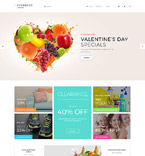 Supermarket PrestaShop Template