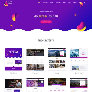 Website Template # 62466