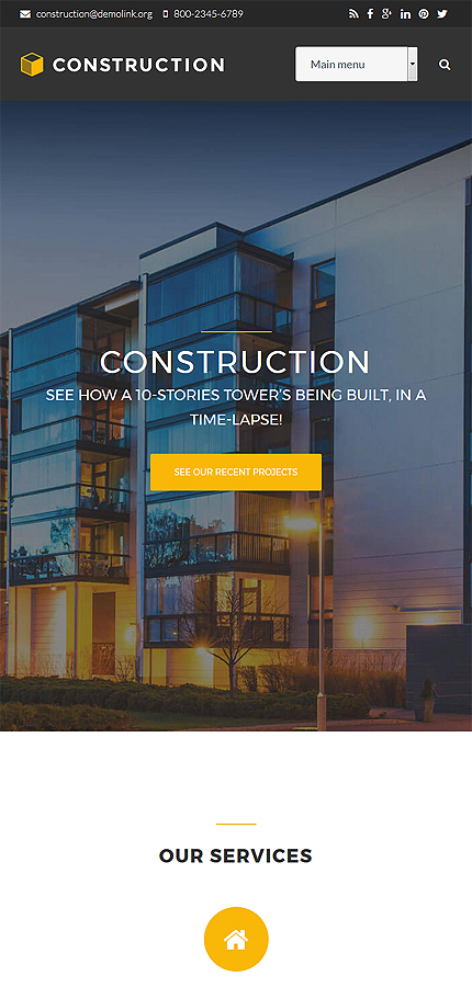 Architecture Most Popular website inspirations at your coffee break? Browse for more Drupal #templates! // Regular price: $75 // Sources available: .PSD, .PHP #Architecture #Most Popular #Drupal