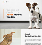 Pets WordPress Template