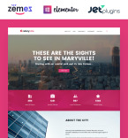 City Portal WordPress Template