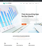 Finance Group WordPress Template