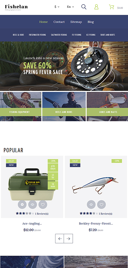 Sport Most Popular website inspirations at your coffee break? Browse for more PrestaShop #templates! // Regular price: $139 // Sources available: .PSD, .PHP, .TPL #Sport #Most Popular #PrestaShop