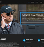 Security Company WordPress Template