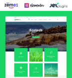 Environment Saving WordPress Template