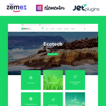 WordPress Theme # 63381