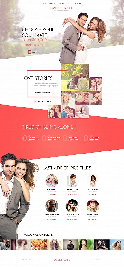 Dating website inspirations at your coffee break? Browse for more Moto CMS HTML #templates! // Regular price: $139 // Sources available:<b>Sources Not Included</b> #Dating #Moto CMS HTML