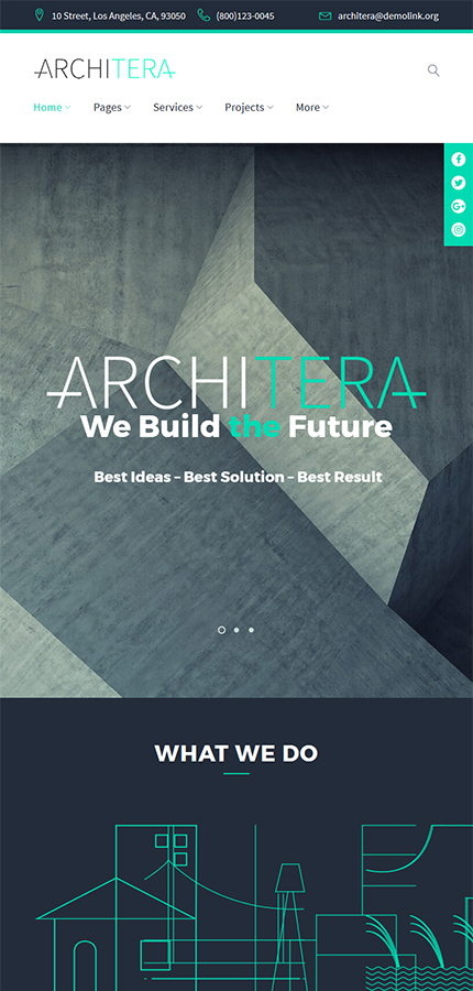 Architecture Most Popular website inspirations at your coffee break? Browse for more WordPress #templates! // Regular price: $75 // Sources available:.PHP, This theme is widgetized #Architecture #Most Popular #WordPress