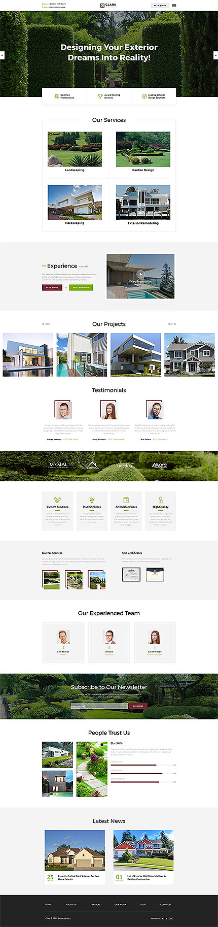 Exterior Design Most Popular website inspirations at your coffee break? Browse for more Bootstrap #templates! // Regular price: $75 // Sources available: .HTML,  .PSD #Exterior Design #Most Popular #Bootstrap