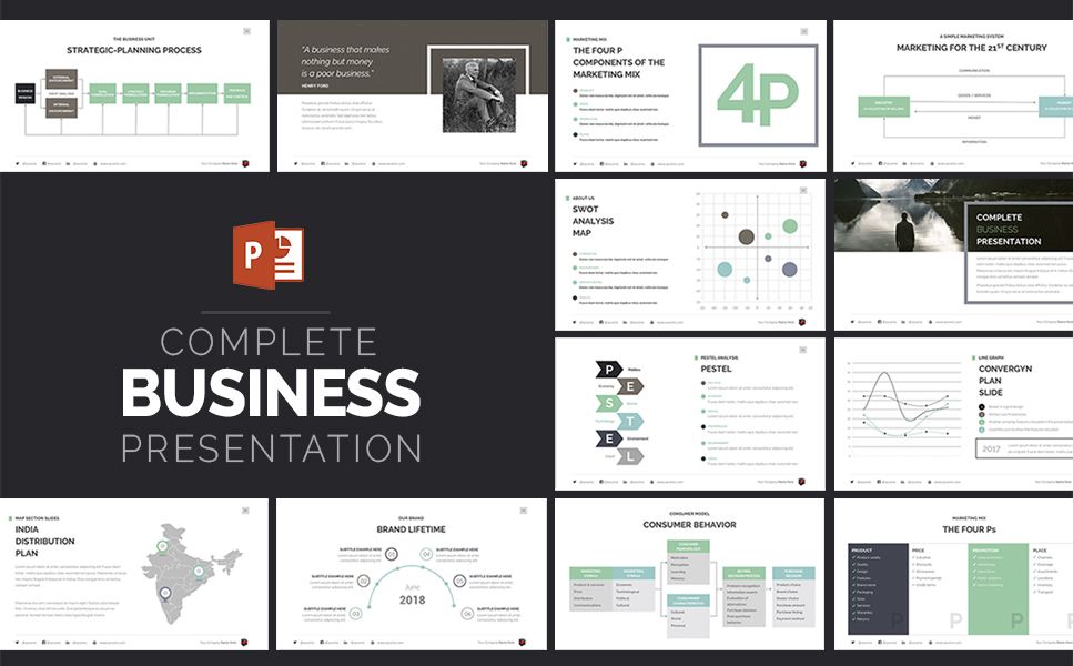 Powerpoint Business Templates