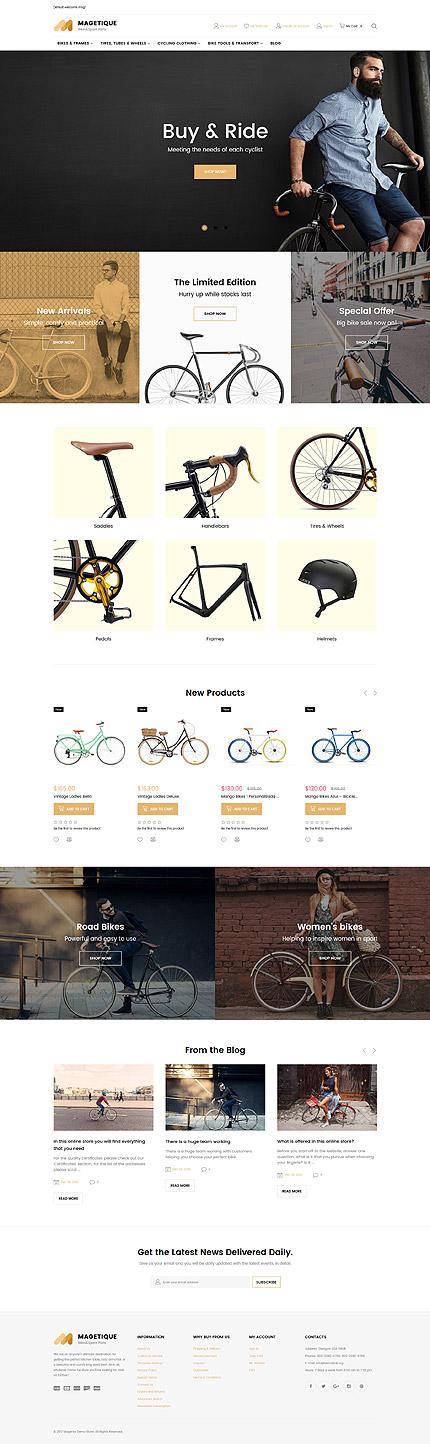Plantilla para magento - Categoría: Coches y motos - versión para Desktop