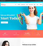 Health Care WordPress Template
