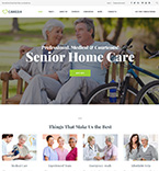 Elderly Care WordPress Template