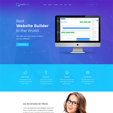 WordPress Theme # 63548