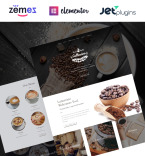Coffee Shop WordPress Template