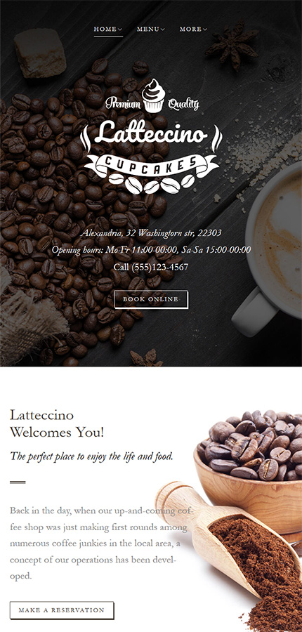 Cafe and Restaurant Most Popular website inspirations at your coffee break? Browse for more WordPress #templates! // Regular price: $75 // Sources available:.PHP, This theme is widgetized #Cafe and Restaurant #Most Popular #WordPress