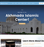 Islamic WordPress Template