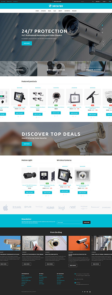Security Most Popular website inspirations at your coffee break? Browse for more OpenCart #templates! // Regular price: $72 // Sources available: .PSD, .PNG, .PHP, .TPL, .JS #Security #Most Popular #OpenCart