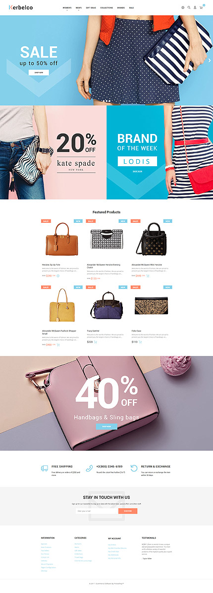 Fashion Most Popular website inspirations at your coffee break? Browse for more PrestaShop #templates! // Regular price: $139 // Sources available: .PSD, .PHP, .TPL #Fashion #Most Popular #PrestaShop