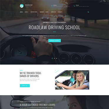 WordPress Theme # 63631