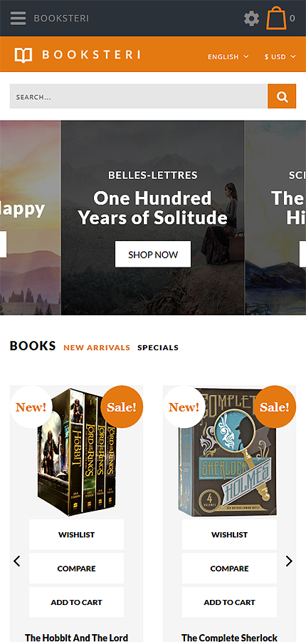 Books Most Popular website inspirations at your coffee break? Browse for more OpenCart #templates! // Regular price: $59 // Sources available: .PSD, .PNG, .PHP, .TPL, .JS #Books #Most Popular #OpenCart