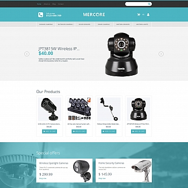 MotoCMS Ecommerce Template # 63749