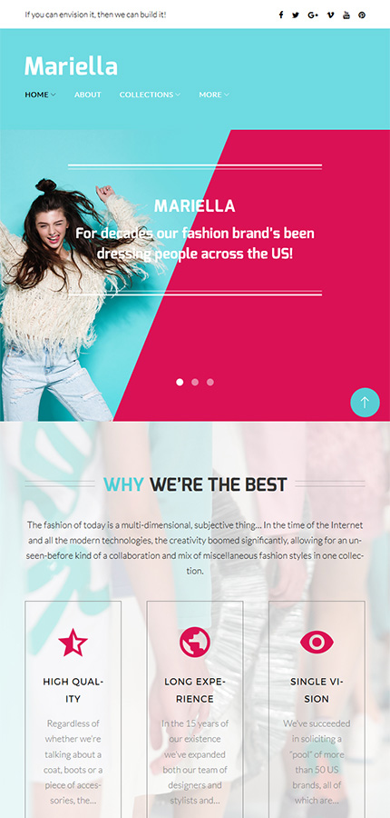 Fashion Most Popular website inspirations at your coffee break? Browse for more WordPress #templates! // Regular price: $81 // Sources available:.PHP, This theme is widgetized #Fashion #Most Popular #WordPress