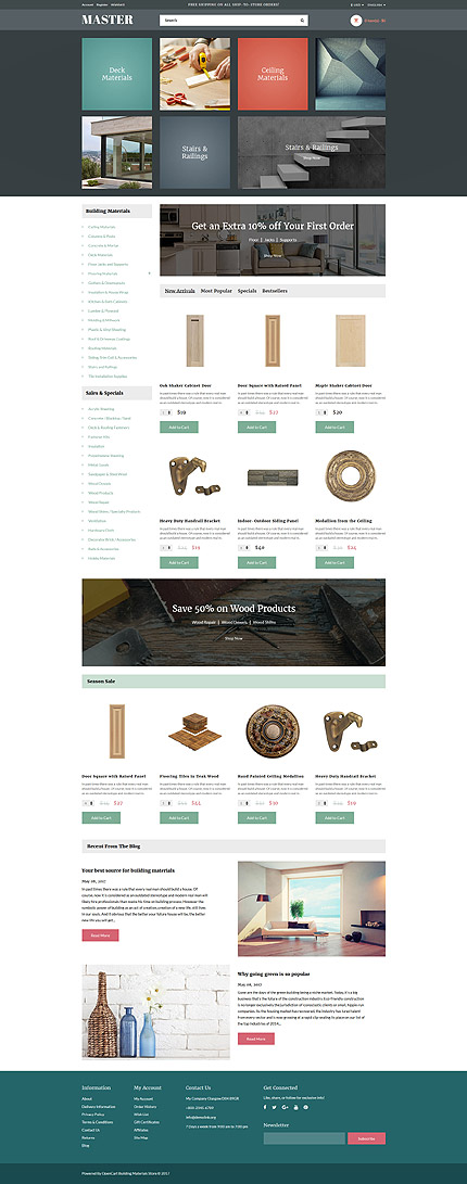 Industrial website inspirations at your coffee break? Browse for more OpenCart #templates! // Regular price: $45 // Sources available: .PSD, .PNG, .PHP, .TPL, .JS #Industrial #OpenCart