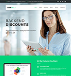 Software Company WordPress Template
