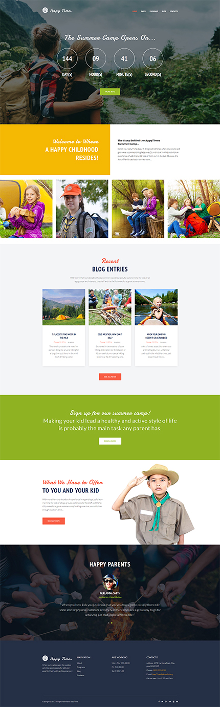Family website inspirations at your coffee break? Browse for more WordPress #templates! // Regular price: $75 // Sources available:.PHP, This theme is widgetized #Family #WordPress